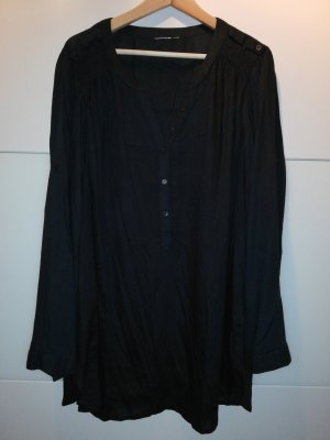 Hemdblousejurk zwart