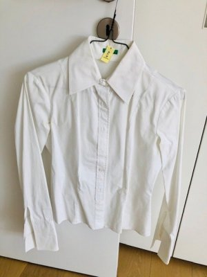 Benetton Jeans Shirt Blouse white