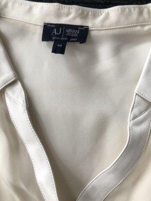 Armani Jeans Blouse-chemisier crème