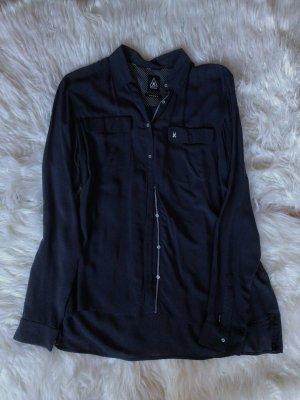 Hemd- Bluse dunkelblau
