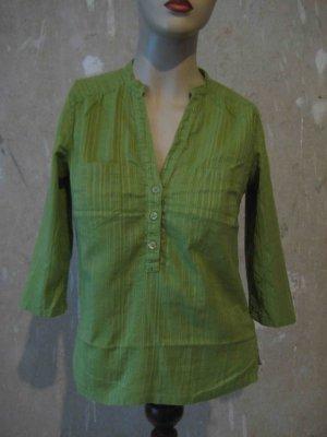 Hemd-Bluse, hellgrün - casual Look