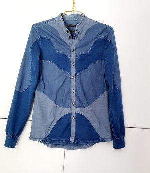 Hemd Bluse in jeans Optik von Diesel Black Gold gr. S