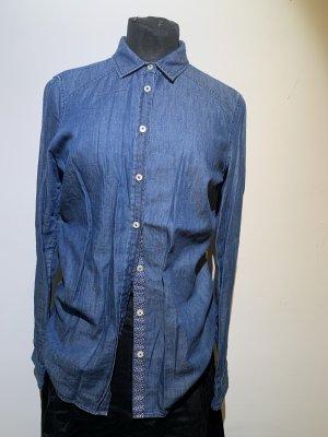Milano Denim Blouse dark blue