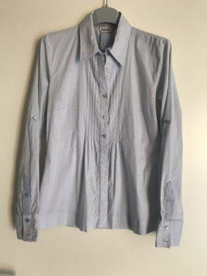 Street One Shirt Blouse cornflower blue-white cotton