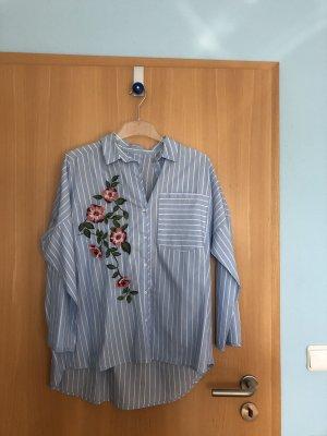 Hemd Bluse mit Stickereien