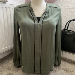 Hemd bluse neu ohne etikett gr 38 karki