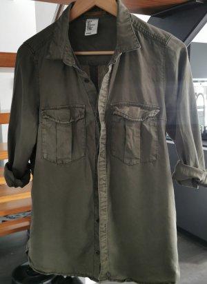 Hemd / Bluse olive / khaki Gr. 36