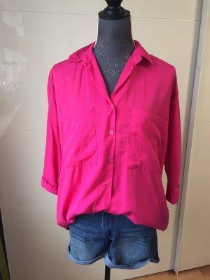 Hemd Bluse pink