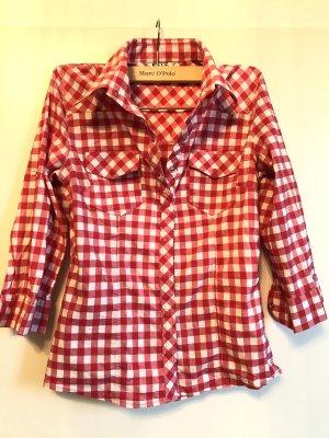 Hemd Bluse Rot