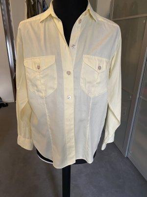 van Laack Long Sleeve Blouse pale yellow