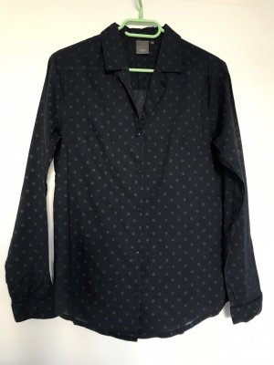 Ichi Blusa-camisa azul oscuro