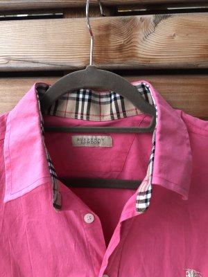 Burberry Shirt met lange mouwen roze