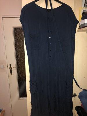H&M Camisa de manga corta azul oscuro