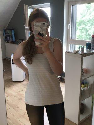 FitZ Camicia a maniche corte bianco-giallo pallido