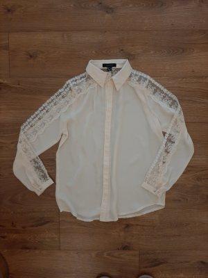 ATMOSPHÄRE Koszulowa bluzka kremowy
