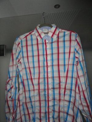 Caliban Long Sleeve Shirt multicolored cotton