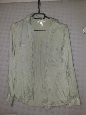 Balmain for H&M Camicia blusa grigio-verde