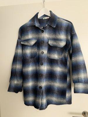 Lumberjack Shirt white-blue