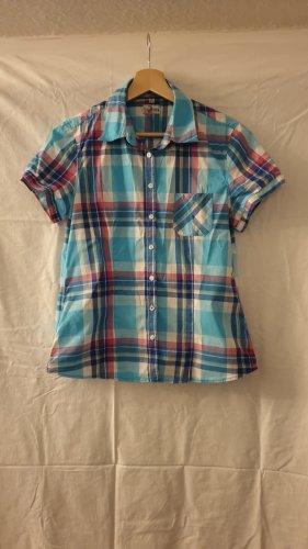 UpFashion Camisa de manga corta multicolor Algodón