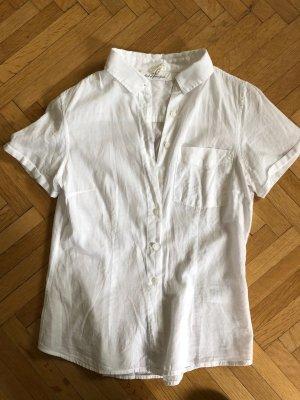 H&M Shirt met korte mouwen wit