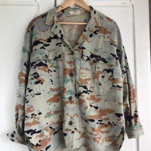 Pull & Bear Camicia a maniche lunghe multicolore