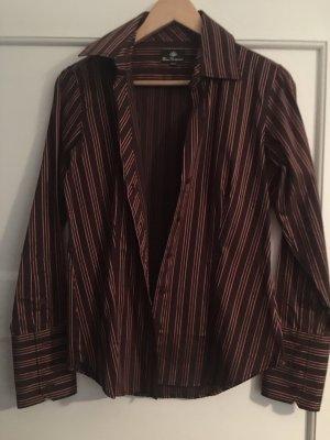 Ben Sherman Shirt Blouse bordeaux-black