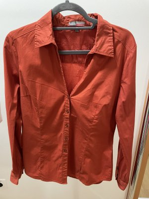 17&co Long Sleeve Shirt brown red
