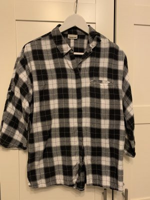 Vero Moda Camicia da boscaiolo bianco-nero