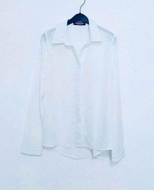 Fashion Union Oval Sunglasses white-natural white