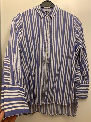 Hemd gestreift vorne kürzer hinten länger