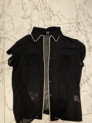 Esprit Short Sleeve Shirt black-white