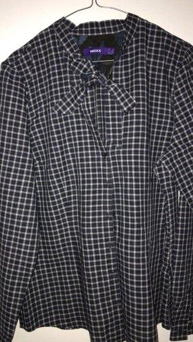 Mexx Long Sleeve Shirt dark blue-white