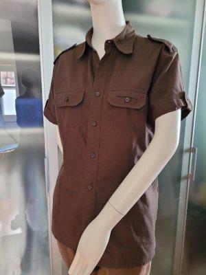 C&A Clockhouse Camisa de manga corta marrón