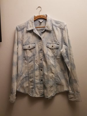 Calvin Klein Denim Shirt white-azure