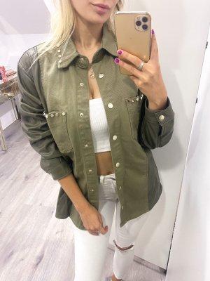 Hemd / Jacke von Zara mit Nieten