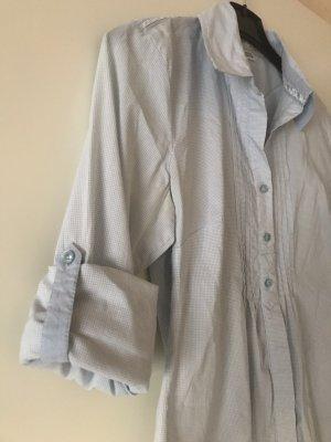 Street One Camicia a maniche lunghe azzurro-bianco Cotone