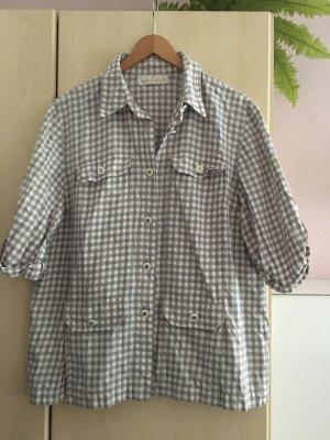 Avantgarde Short Sleeve Shirt beige cotton