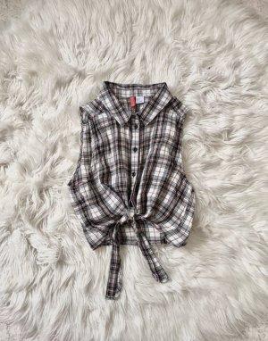 H&M Camisa de manga corta multicolor