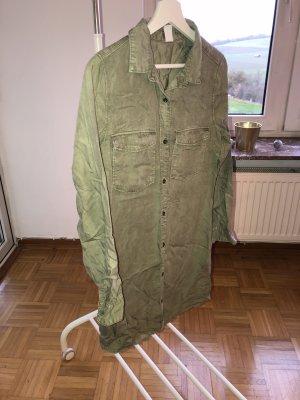 H&M Abito blusa camicia cachi