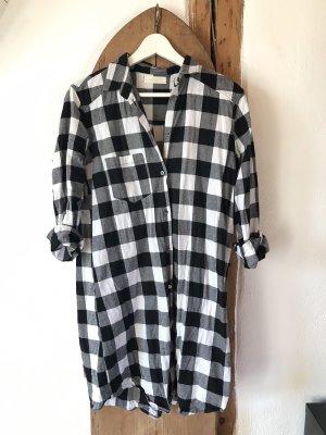 Hemd Kleid im Holzfällerstyle