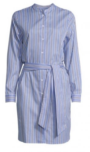 Seidensticker Koszulowa sukienka Wielokolorowy Bawełna