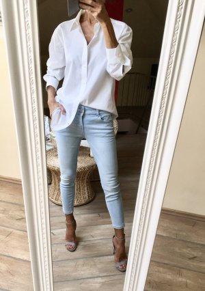 Hemd langarmig Weiß Neu!