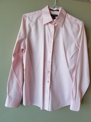 Lands' End Camicia blusa rosa chiaro Cotone