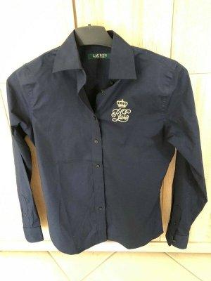 Ralph Lauren Long Sleeve Shirt dark blue cotton