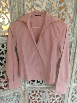 Sisley Shirt met lange mouwen lichtroze-rosé Katoen