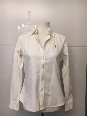Ralph Lauren Camisa vaquera blanco-blanco puro