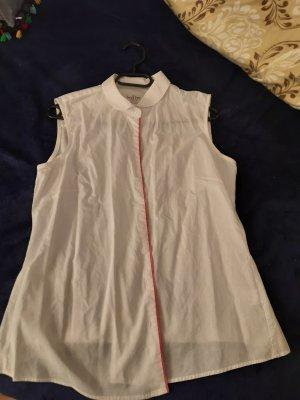 Short Sleeve Shirt white-pink