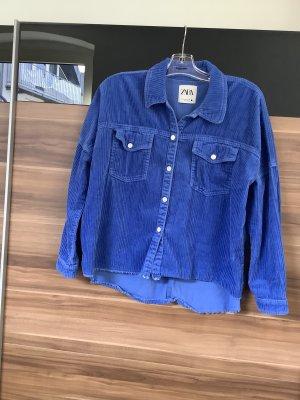 Hemd von Zara Größe 36 blau
