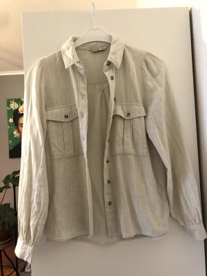 Hemd, Weiches Leinenartiges Hemd