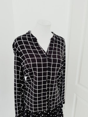 Amy Vermont Koszulowa bluzka biały-czarny